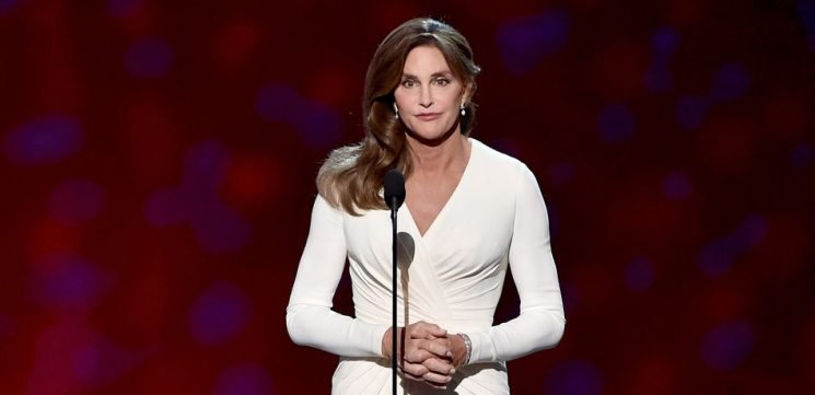 Caitlyn Jenner Flaunts Busty Chest In White Bathing Suit To Celebrate Her 69th Birthday