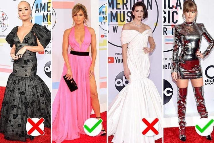 Jennifer Lopez, Taylor Swift and Heidi Klum top style charts at American Music Awards while Dua Lipa, Rita Ora and Cardi B miss the mark