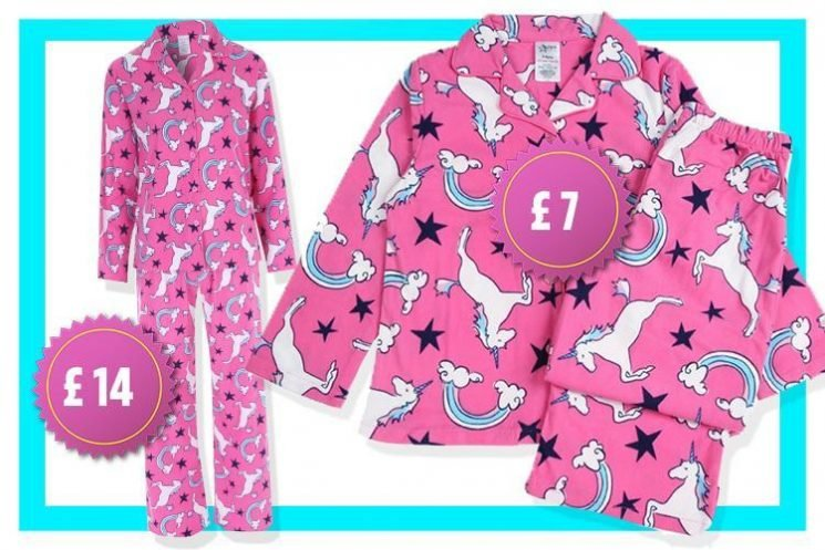 Peacocks is selling matching mum and daughter UNICORN pyjamas priced from £7
