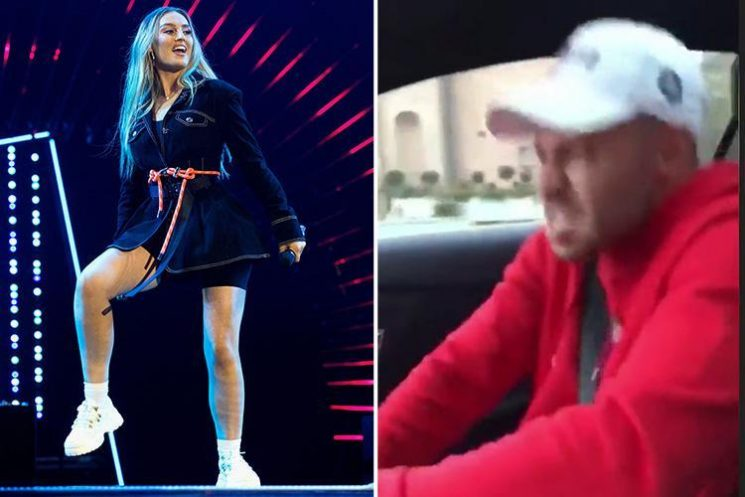 Perrie Edwards LEAKS brand new Little Mix tracks as she films boyfriend Alex Oxlade Chamberlain dancing to them in the car