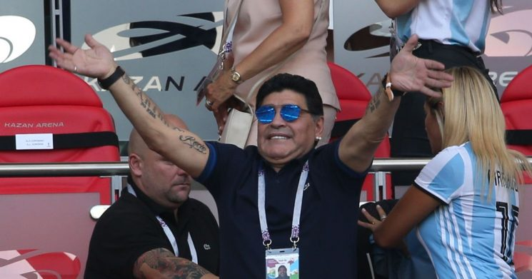 Maradona's crazy 2018 – white wine binges, World Cup 'death' and insulting Trump