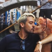 G-Eazy Helps Celebrate Halsey's Birthday in Italy … And Drops a New Freestyle