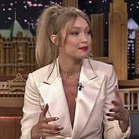 Gigi Hadid Joined Jimmy Fallon to Discus Her Design Role with the Rebooted FAO Schwartz