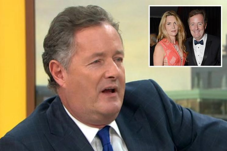 Piers Morgan reveals he's banned his wife Celia Walden from going on Strictly because of the dreaded curse – as Kate Silverton claims it has spiced up her marriage