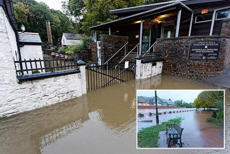 UK weather – Storm Callum flood warnings spark home evacuations as month's worth of rain falls in 48 hours