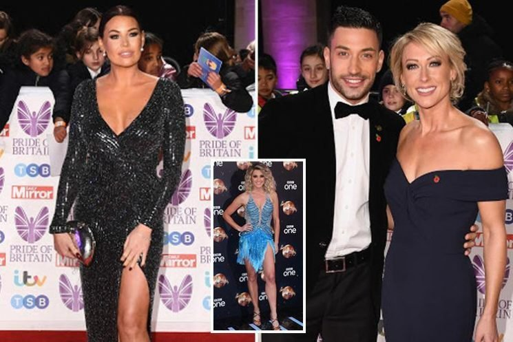 Jess Wright tells Strictly's Giovanni Pernice 'you're full of s***' as exes have furious row at Pride Of Britain Awards just days after his romance with Ashley Roberts was revealed