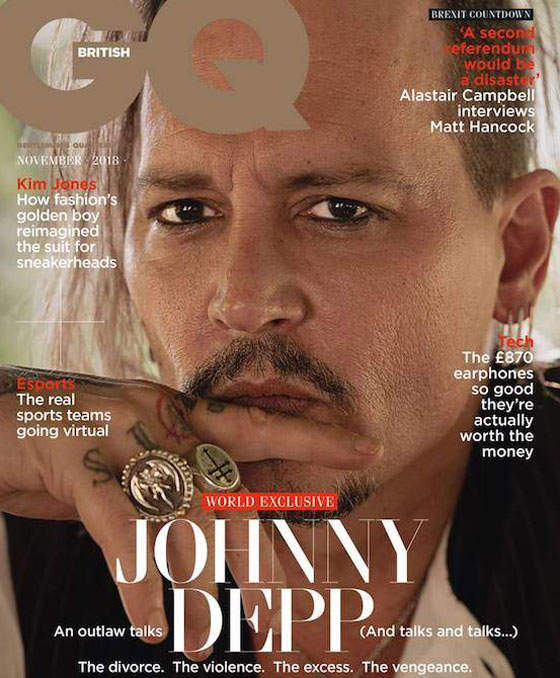 Johnny Depp Isn't Happy With His Rolling Stone Interview