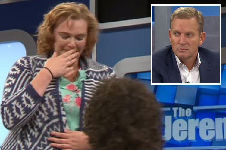 Jeremy Kyle Show fans mock guest, 44, who proposed to his girlfriend, 18, live on TV and revealed they have sex five times a day – everyday