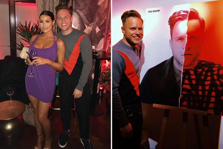 Jessica Wright spotted 'cosying up' to Olly Murs at the launch of his album after split with Strictly's Giovanni Pernice