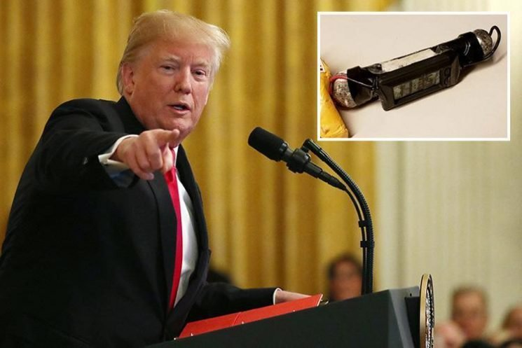 Donald Trump blames 'media hostility' for 'MAGA bomber' pipe bombs after explosives sent to CNN, the Clintons and six others
