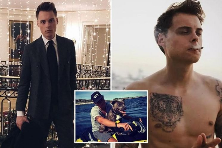 World's youngest billionaire is 25-year-old male model who poses in flash Instagram snaps smoking cigars and cuddling dogs on jet skis