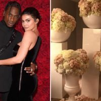 Kylie Jenner thanks 'hubby' Travis Scott for HUGE flower display