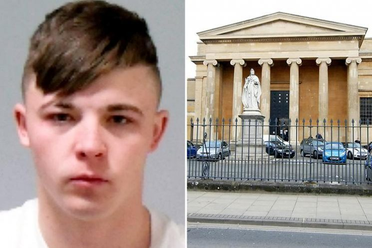 Sex offender Bradley Tout, 20, leapt from the dock and fled seconds after being found guilty of raping a 16-year-old girl