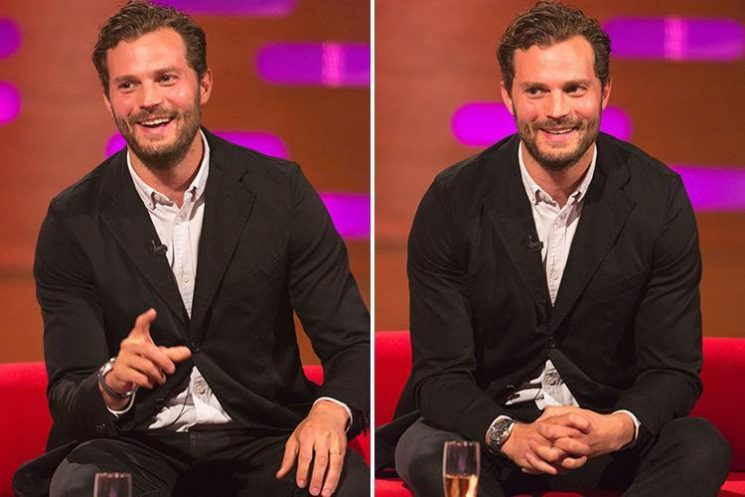 Jamie Dornan has Graham Norton Show viewers in hysterics as he reveals he pooed in the bath while sleepwalking aged 11