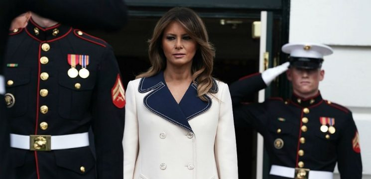 Jimmy Kimmel Shares His Hysterical Melania Trump Montage