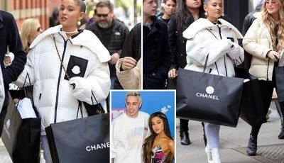 Ariana Grande gets over her heartbreak with shopping spree in Chanel after split with Pete Davidson