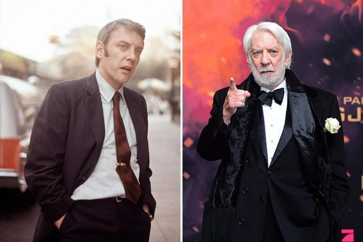 How old is Donald Sutherland, what films has the John Paul Getty actor from Trust been in and who are his children?