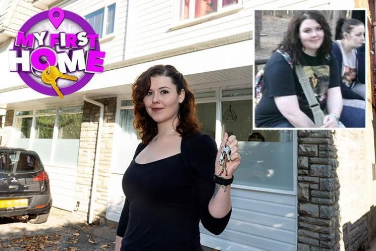 Single woman saves £20k for her first home by giving up takeaways and walking everywhere – and sheds NINE stone