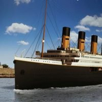 When will Titanic II be finished, what will be its maiden route and where is it being built?