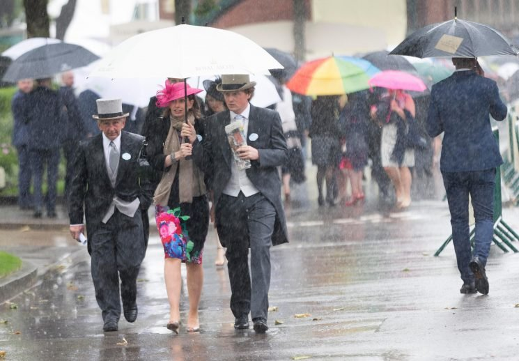 QIPCO British Champions Day 2018: Weekend downpours leave the ground heavy at Ascot as build up continues to Saturday's end of season bonanza