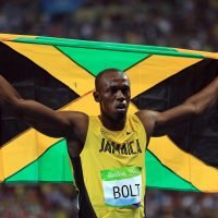 Usain Bolt voted as the 'ultimate superhuman' in a 2,000-strong survey… with Mo Farah coming in second