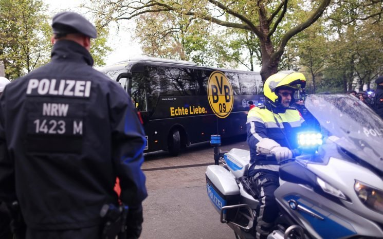 Borussia Dortmund sponsor sparks furious response after Twitter quiz asking how many players attacked by 2017 bus bomber remain on the team