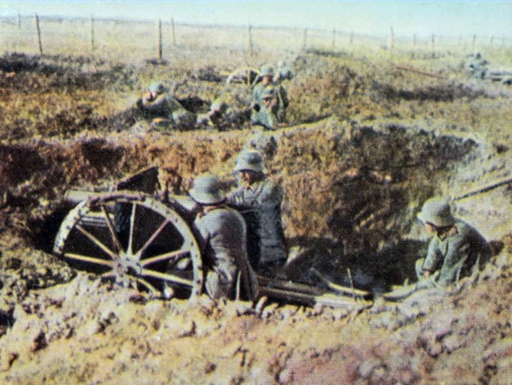 When did the Spring Offensive begin, where did the battles take place and how did it end?