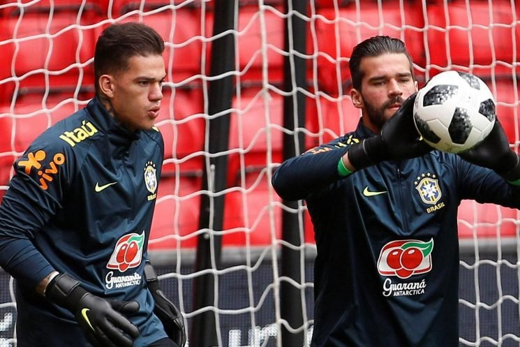 Man City news: Ederson admits he is behind Liverpool's Alisson in the race to be Brazil's No1 keeper