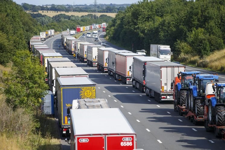 Is the M26 closed, will it be turned into a lorry park and how will it affect traffic?