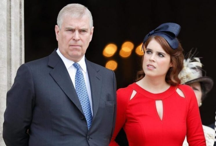 Who will walk Princess Eugenie down the aisle when she marries Jack Brooksbank and what will Prince Andrew's role be?