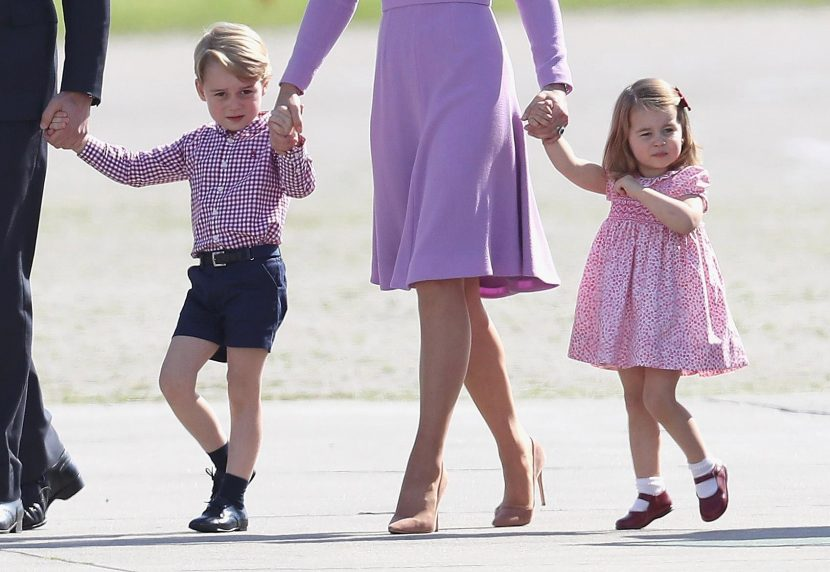 Prince George and Princess Charlotte are preparing for royal duties ALREADY by learning how to curtsy and properly shake hands, according to etiquette expert