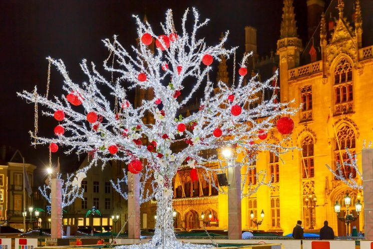 Get a one-day Christmas market coach trip to Bruges with ferry crossing for £49pp