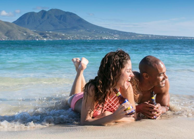 The Caribbean gem with strong UK links – enjoy sandy beaches, scenic railways and luxury hotels as you relax on the isles of St Kitts