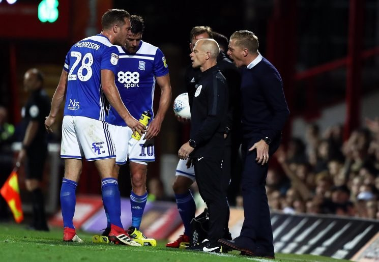 Birmingham boss Garry Monk given one-match ban and fined £2,000 after Brentford red card