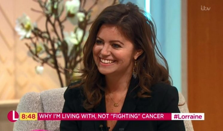 The Sun's Deborah James tells Lorraine she has 'no choice' but to live her best life with cancer – while she still can