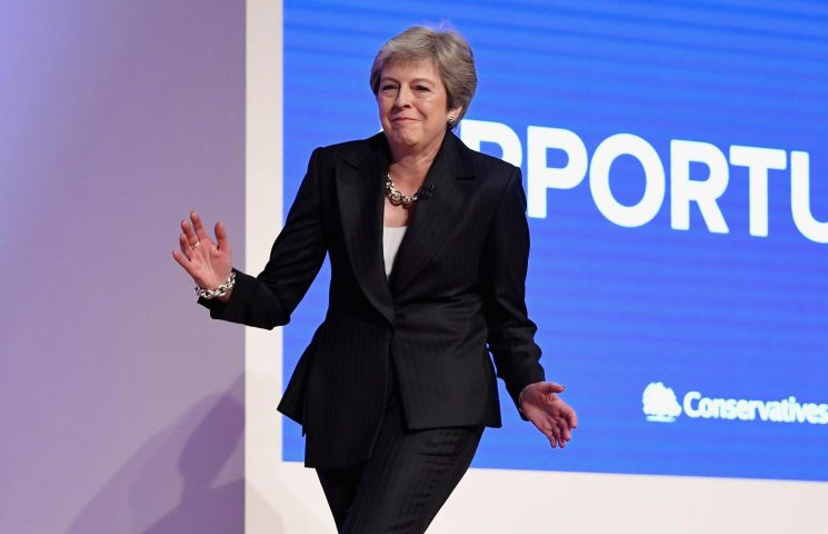 Theresa May trolled by EU boss Guy Verhofstadt over her ABBA dancing