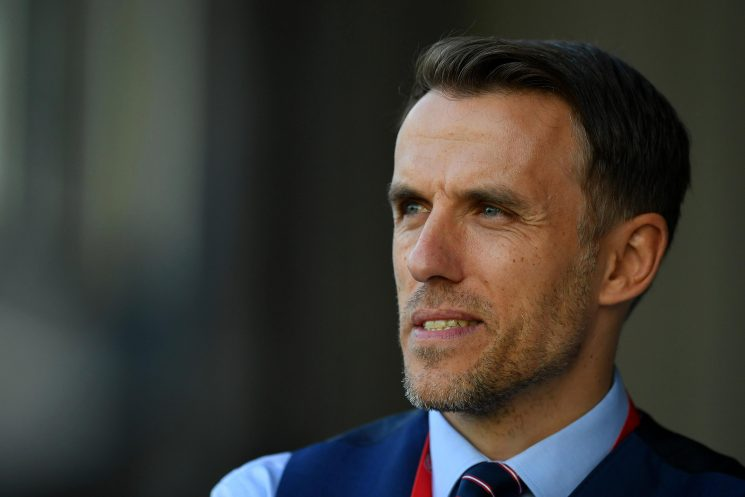 Phil Neville wants to break the attendance record again on Tuesday after record crowds against Brazil in Nottingham