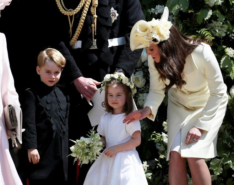 Will Prince George and Princess Charlotte be page boy and flower girl for Princess Eugenie's wedding?