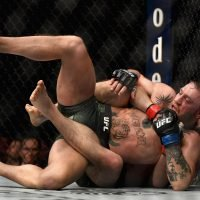 Khabib vs McGregor highlights: Watch Russian's submission win before ugly mass brawl in Las Vegas
