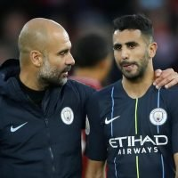 Pep Guardiola defends Riyad Mahrez after penalty miss in Manchester City's draw with Liverpool