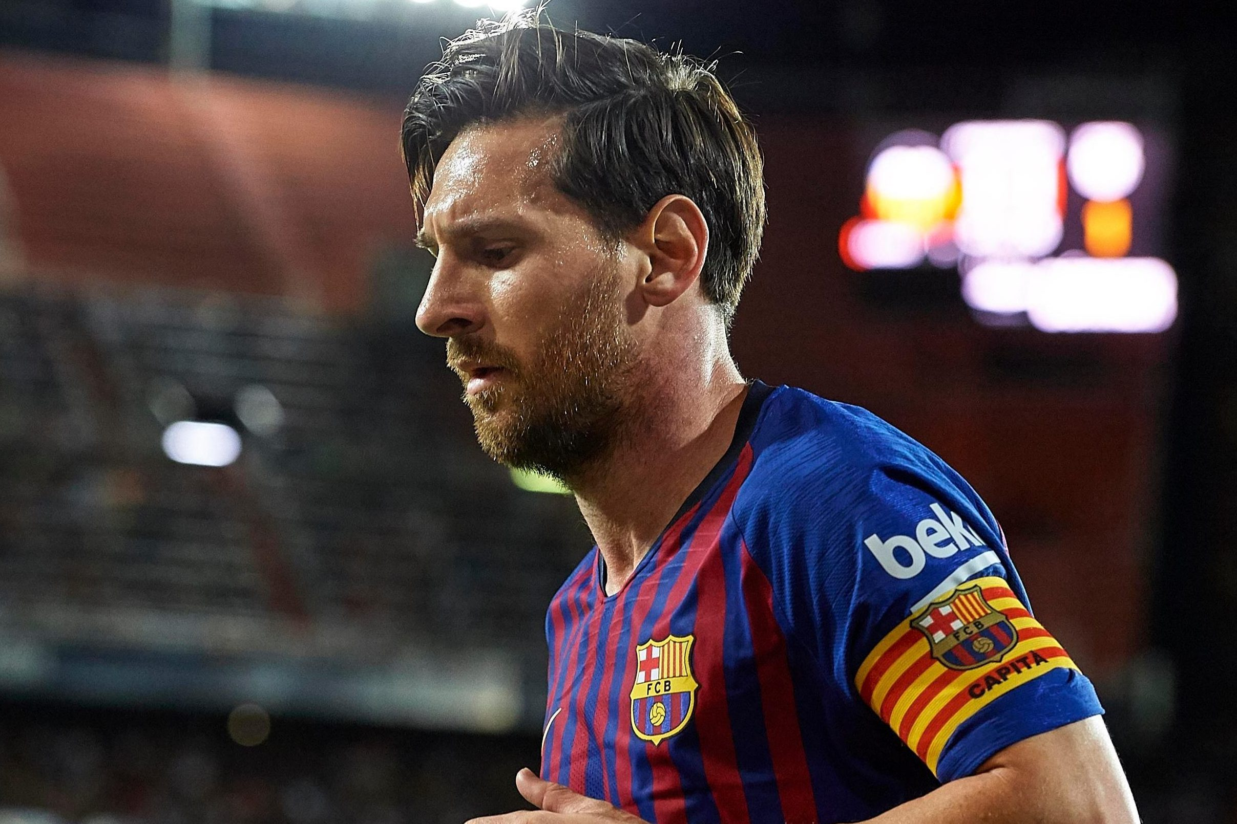 Lionel Messi 'could leave Barcelona on free in 2020' with ...