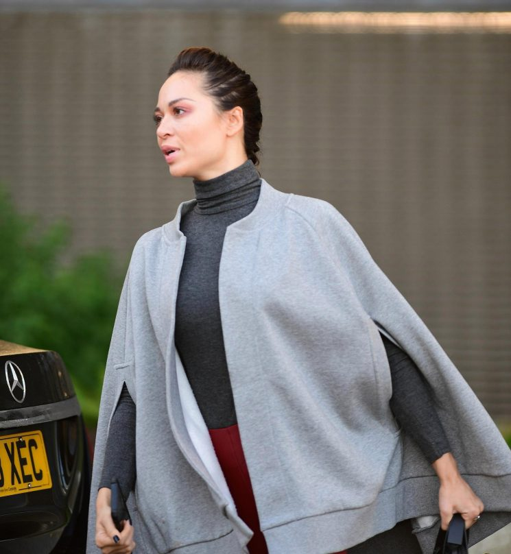 Katya Jones looks miserable as she leaves home for Strictly rehearsals wearing her wedding ring as the cheating scandal rumbles on