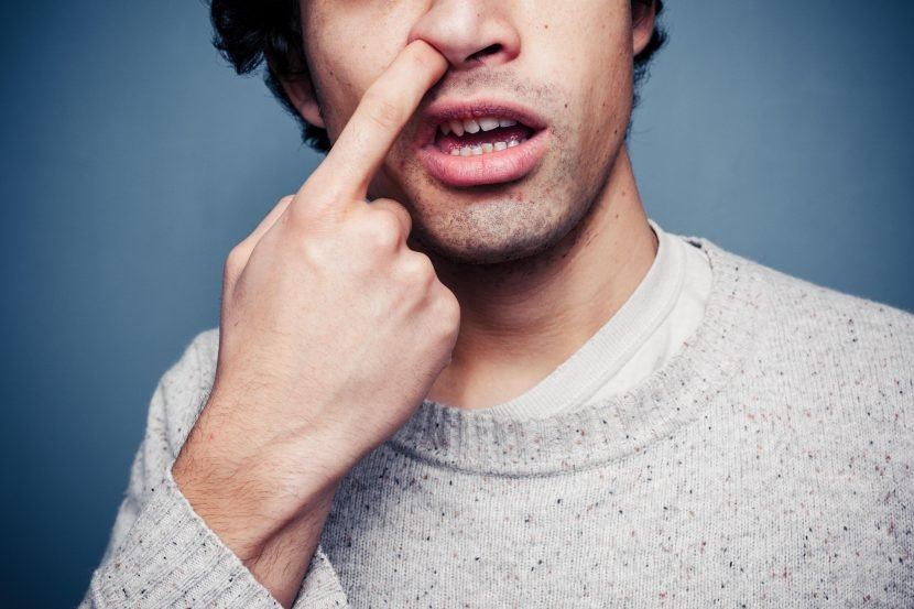 How picking your nose can KILL you… spreading this lethal bug