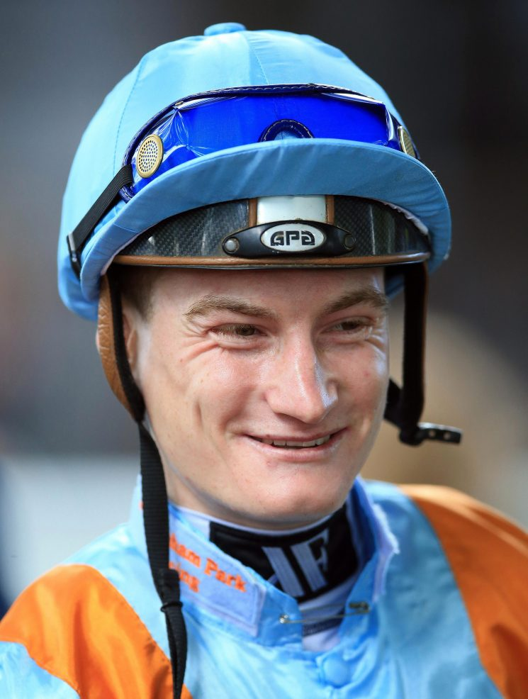 Jockey Daniel Muscutt suffers horror fall at Chelmsford breaking bones in his neck, back and ribs