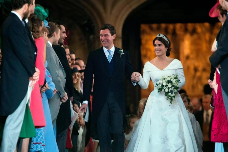 The poignant reason Princess Eugenie didn't throw her wedding bouquet