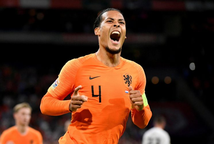 Liverpool ace Virgil van Dijk released from Netherlands duty with week to rest rib injury before Huddersfield