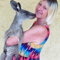 Woman, 64, left with punctured lung after being attacked by 6ft kangaroo