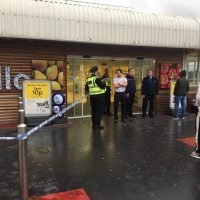 Tesco stabbing – three people stabbed 'with machete' at Huddersfield store as witnesses describe 'shoppers running around covered in blood'