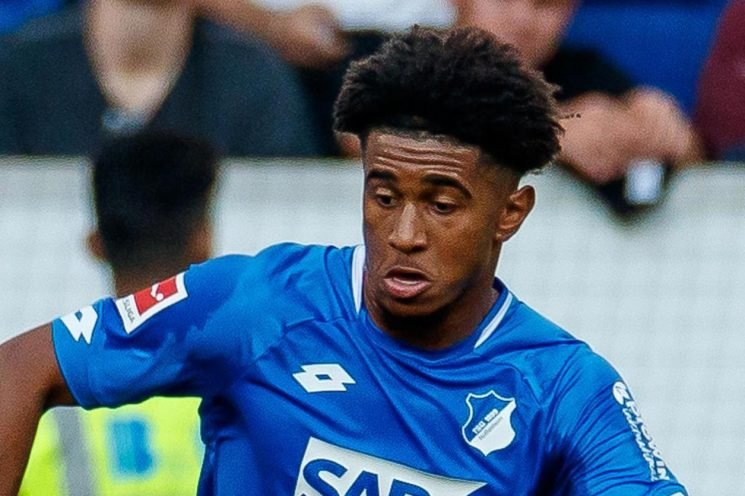 Who is Reiss Nelson, where have Arsenal loaned him and how many goals has the winger scored this season?