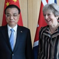 Chinese deputy leader tells Theresa May he plans to upgrade relations from a 'golden era' to a 'diamond era'